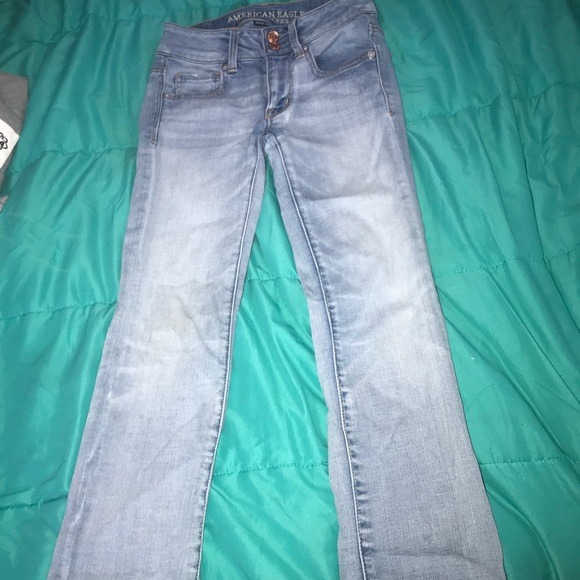 American Eagle Outfitters Denim - American Eagle light blue pants
